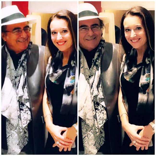 Monaco Cultural Association AIDA - Elizaveta Lovering & Al Bano