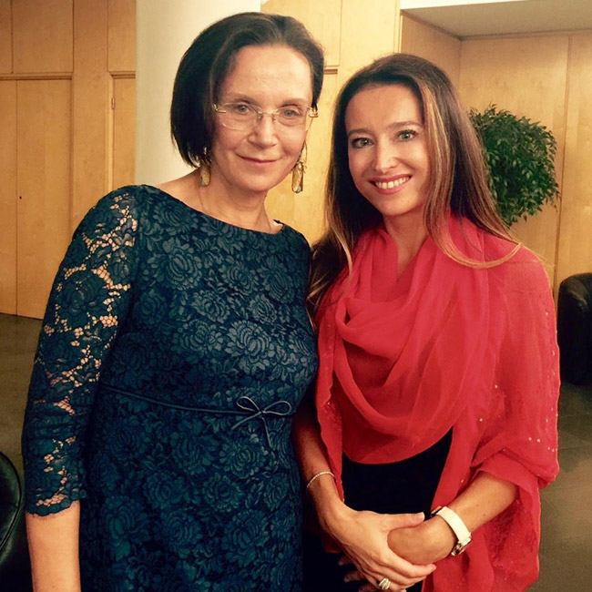 2015 Année de la Russie à Monaco - Semaine du cinéma russe - Irina Kuptchenko et Elizaveta Lovering