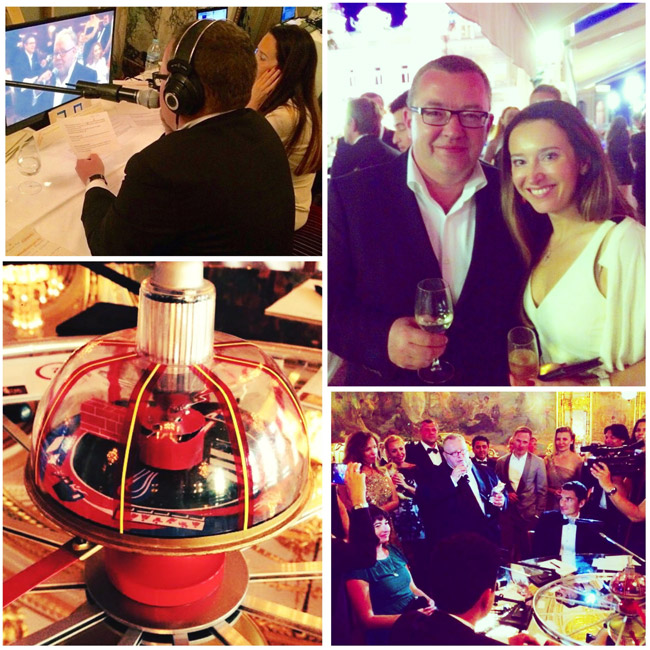 "Interpreting - Intellectual Game Show ""What? Where? When? » - Elizaveta Lovering & director-presenter Boris Kryuk"