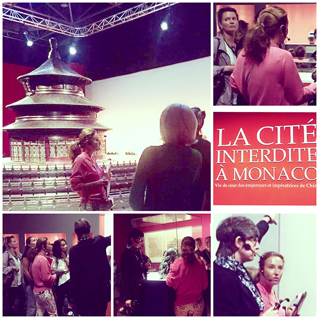 "Interpreting for the exhibition ""The Forbidden City in Monaco: Imperial Court Life in China"" - Grimaldi Forum"