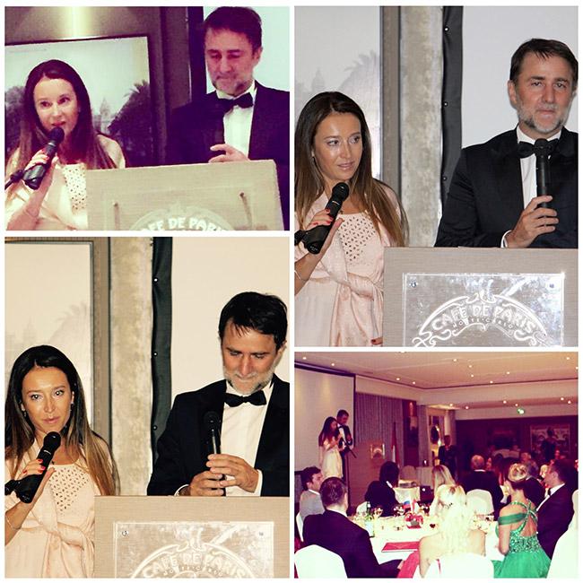 Economical dinner Monaco-Russia - interpreting - Mr. Philippe ORTELLI, FEDEM's Président (Fédération des Entreprises Monégasques)