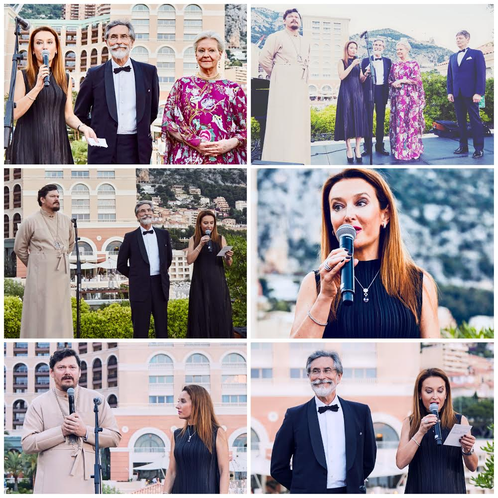 Monaco Translations - official partner & translator for gala dinner in aid of the Russian Orthodox Cathedral in Nice. With Mgr Nestor, bishop of Korsun, H.H. Princess Dorothea Romanoff, H.S.H. Prince Georges Yourievsky, Mr. Pierre de Fermor & Mrs Elizaveta Lovering
